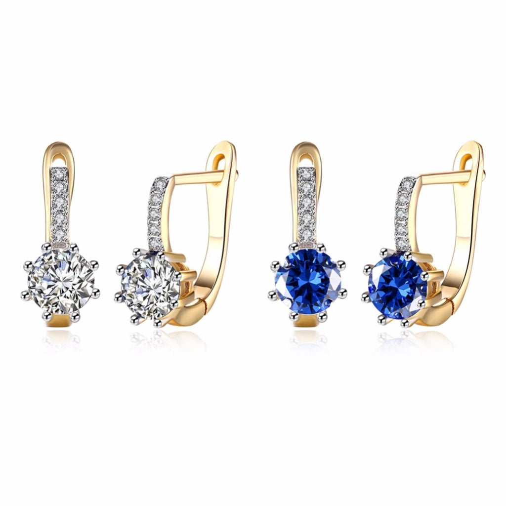 Harp With Stones Cuff Earrings - Action Pro Sports
