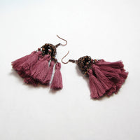 Exotic Tassel Earrings - Action Pro Sports