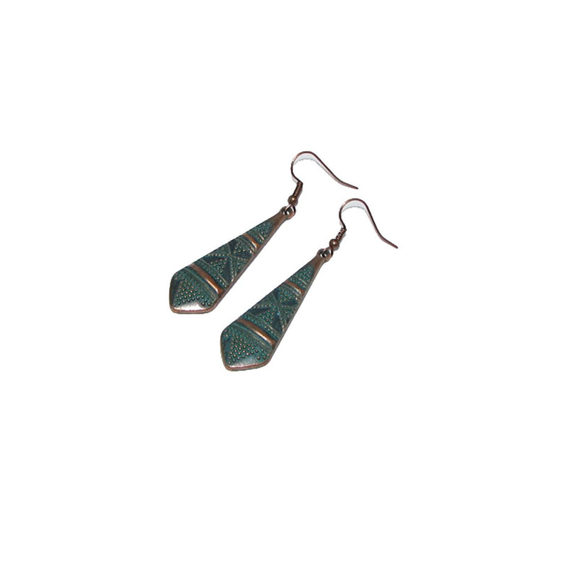 Long Dangle Earrings - Action Pro Sports