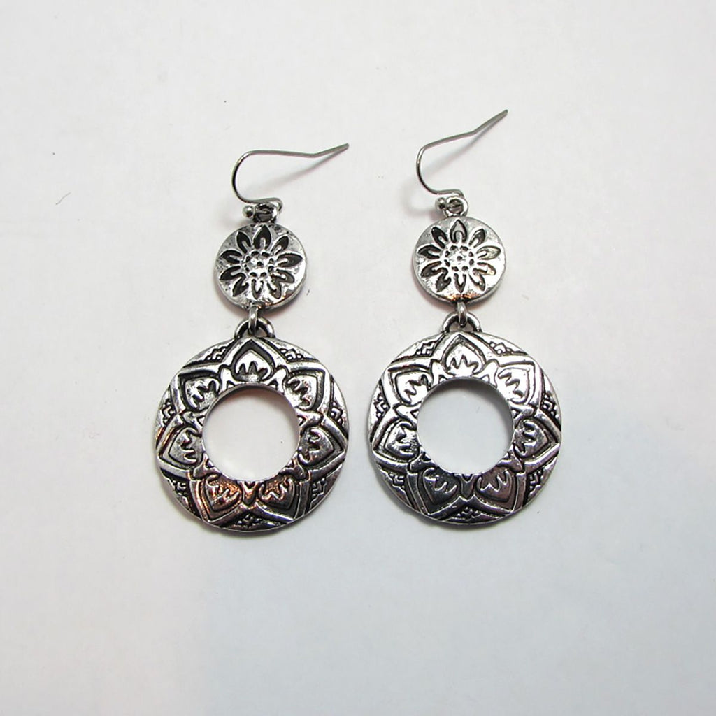 Vintage Celtic Drop Earrings