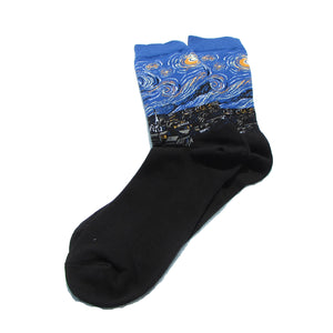 The Starry Night Crew Socks - Action Pro Sports