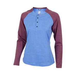 Ida Women's Sun Shirt - Glacier Blue | Action Pro Sports
