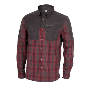 Jack Flannel Men's Shirt - Merlot | Action Pro Sports