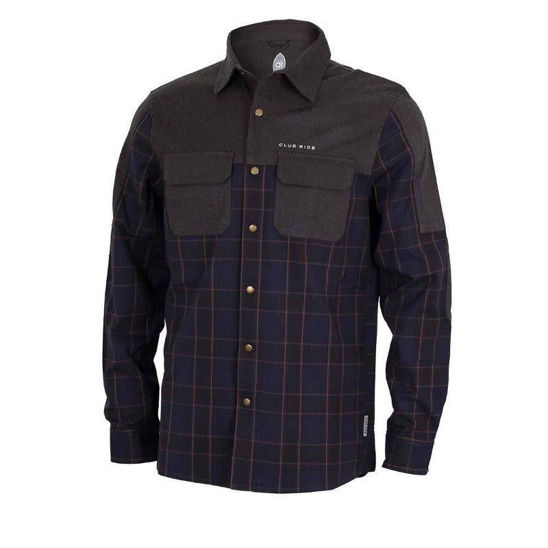 Jack Flannel Men's Shirt - Navy | Action Pro Sports