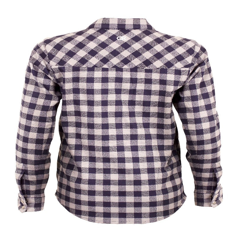 Liv'N Flannel  Women's Shirt - Navy | Action Pro Sports