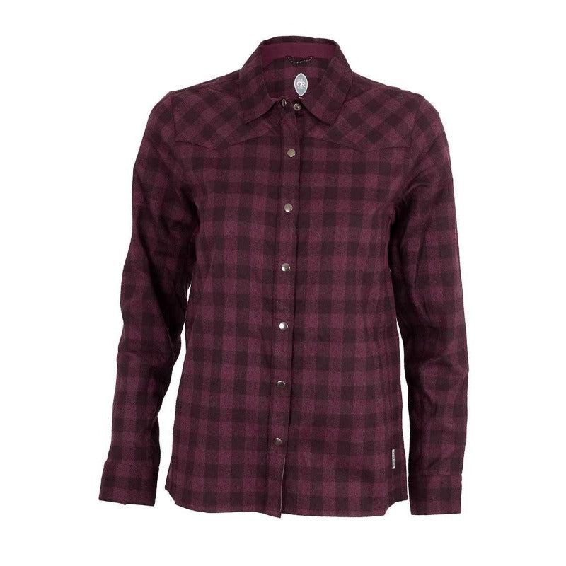 Liv'N Flannel  Women's Shirt - Plumb | Action Pro Sports