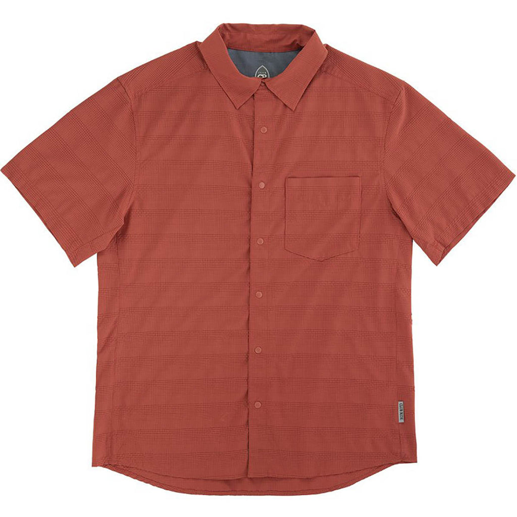 Motive Men's Shirt - Burnt Ochre | Action Pro Sports