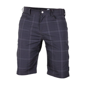 Mountain Surf Men's Short - Black Plaid | Action Pro Sports
