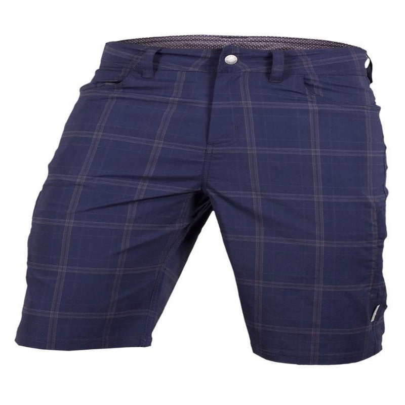 Mountain Surf Men's Short - Navy Plaid | Action Pro Sports