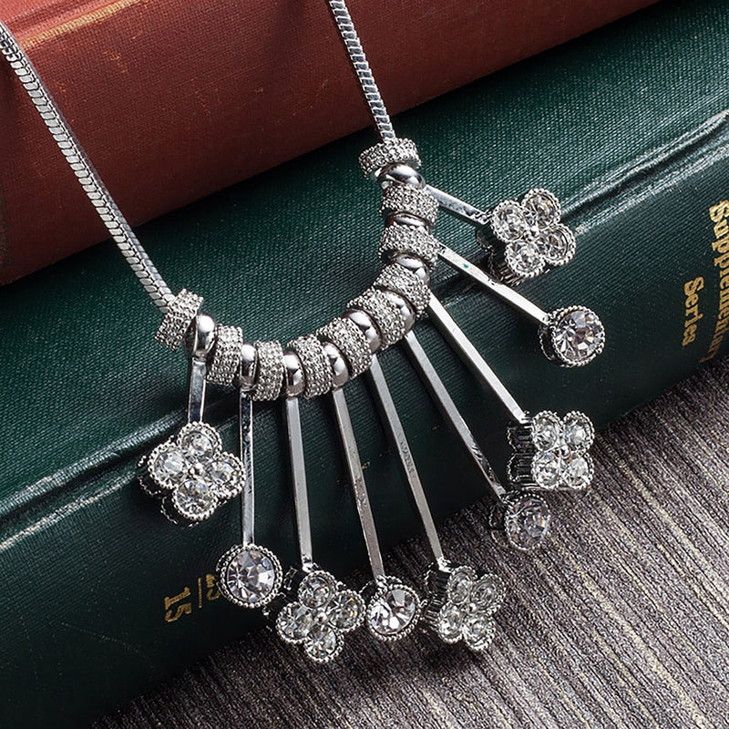 Pendant Rhinestone Necklaces - Action Pro Sports