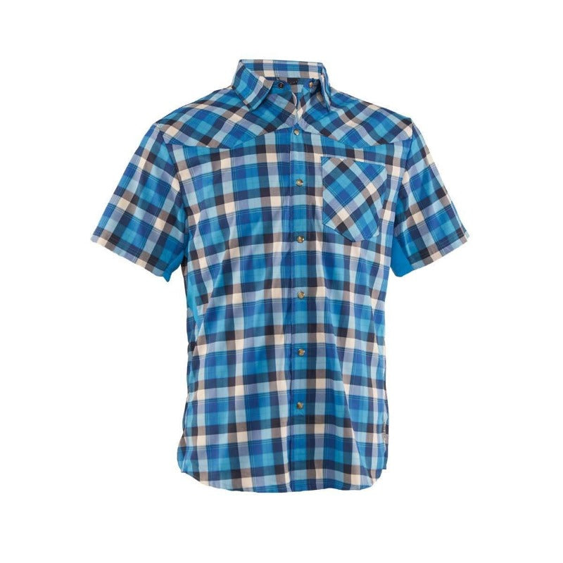 New West Men's Shirt - Blue White | Action Pro Sports