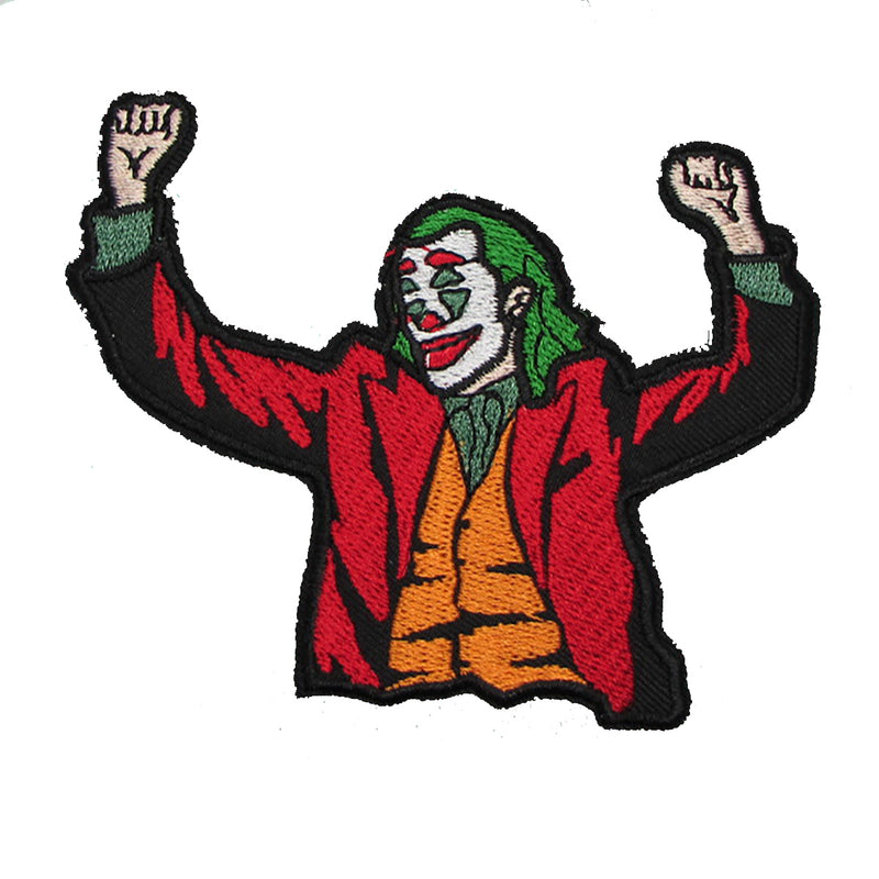 Fan Character Iron On Patch - Joker | Action Pro Sports