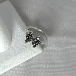Crown Silver & Stone Rings - Action Pro Sports