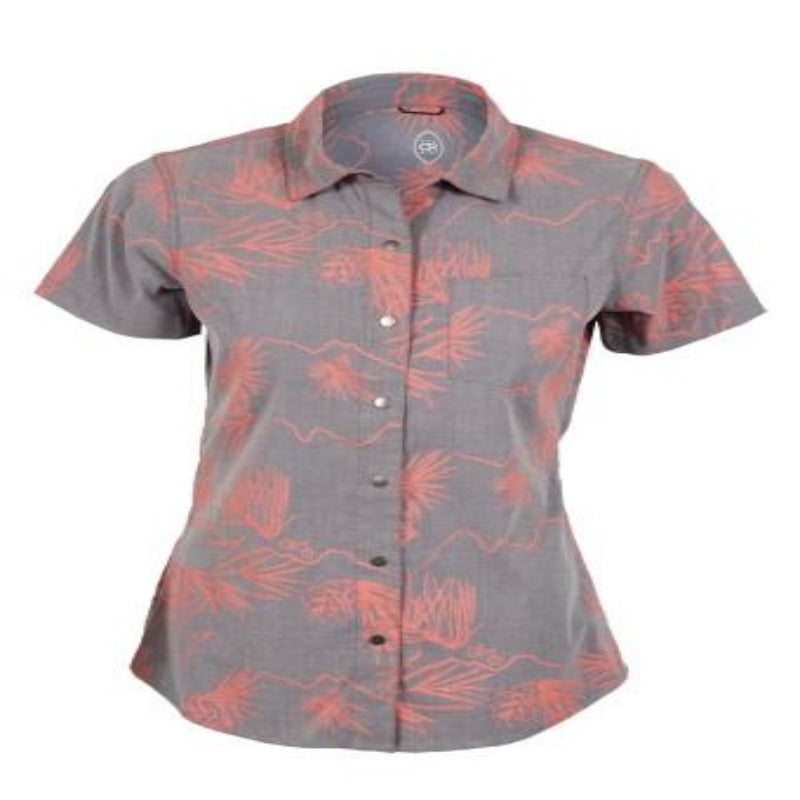 Sandi Surfer Women's Shirt - Asphalt Sandi | Action Pro Sports