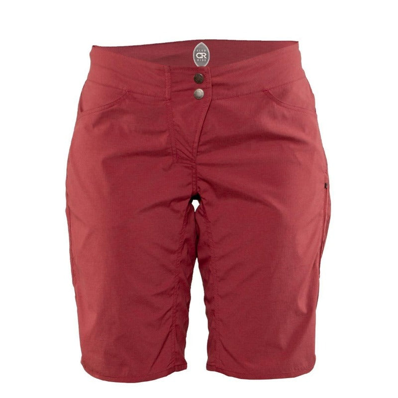 Savvy Women's Short - Cayenne Red | Action Pro Sports