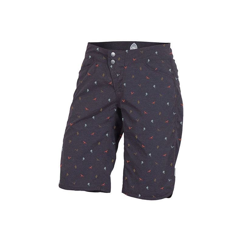 Savvy Women's Short - Navy Print | Action Pro Sports