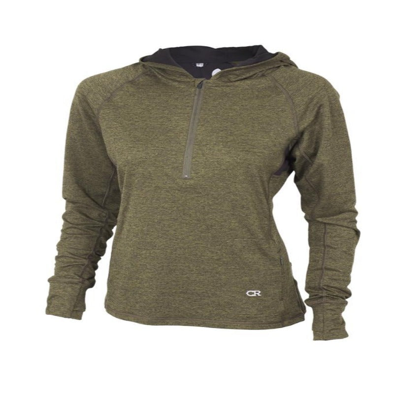 Sprint Hoody Women's Jacket - Olive | Action Pro Sports