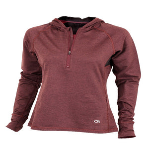 Sprint Hoody Women's Jacket - Merlot | Action Pro Sports