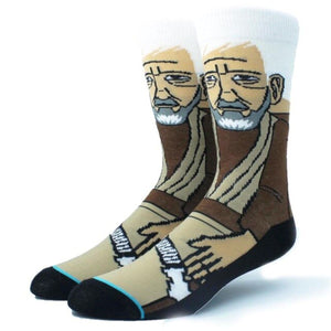 Jedi Obi One Kenobi Crew Socks - Action Pro Sports