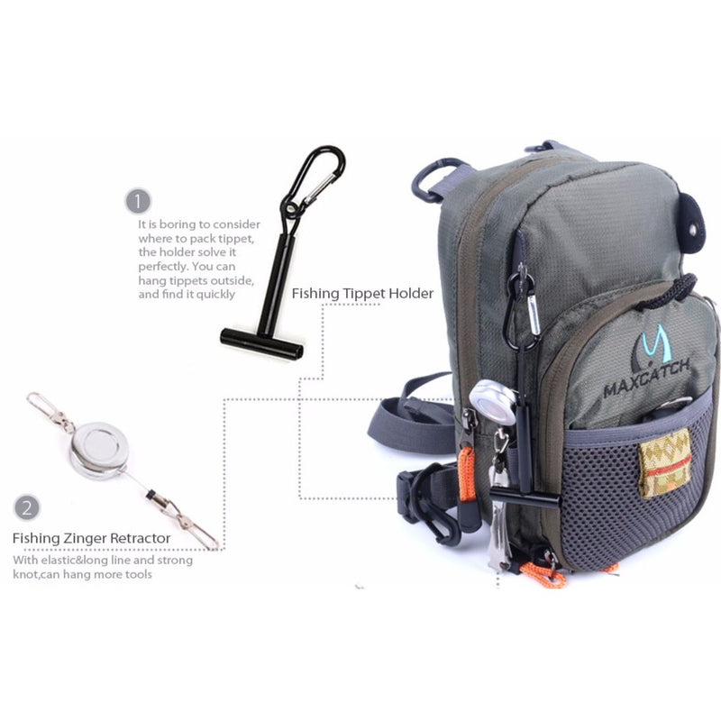 V-Comp Fly Fishing Chest Pack