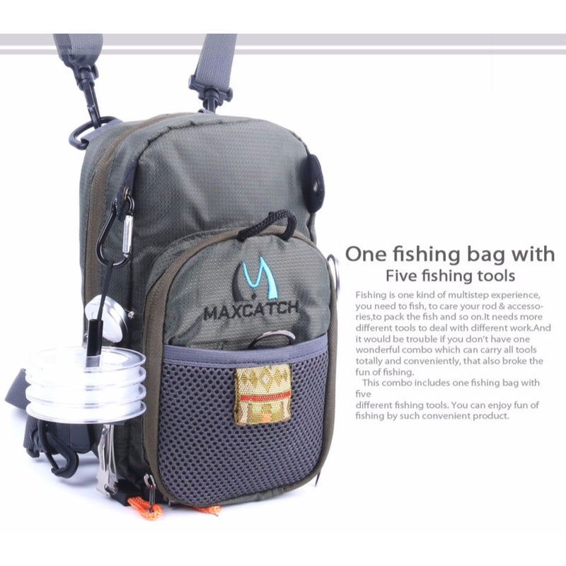 V-Comp Fly Fishing Chest Pack - Action Pro Sports