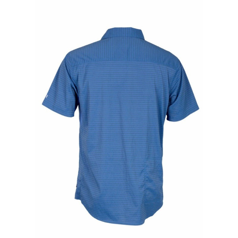 Vibe Men's Shirt - Sapphire Stripe | Action Pro Sports