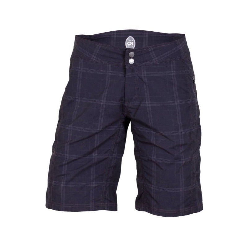 Ventura Women's Short - Black Plaid | Action Pro Sports
