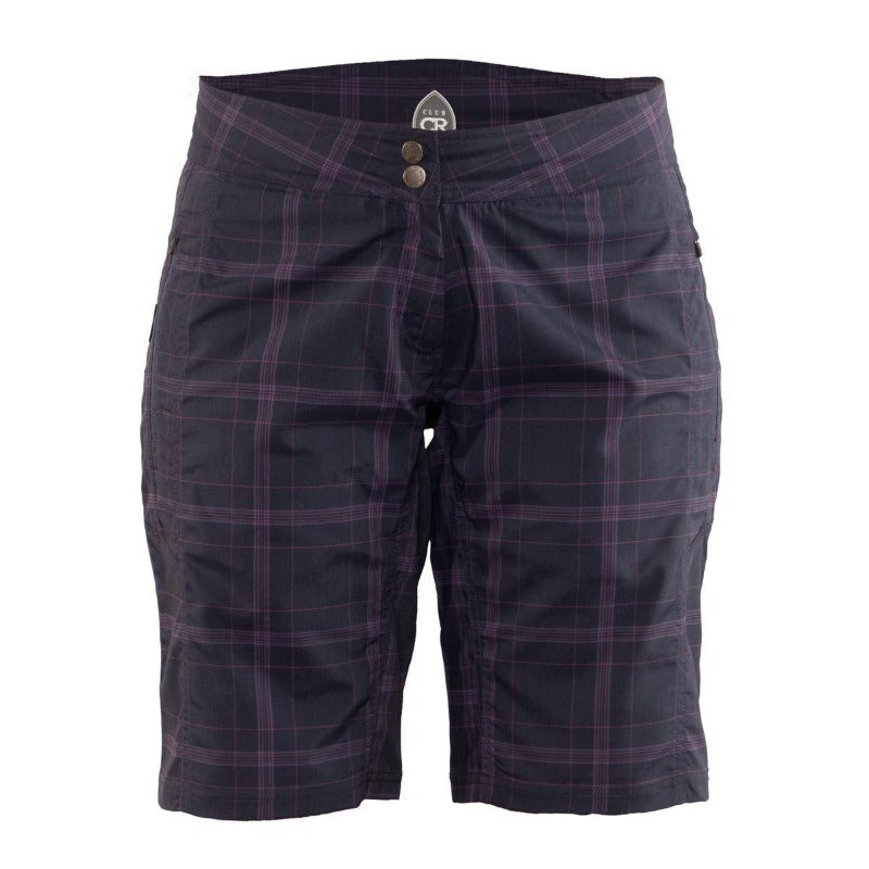 Ventura Women's Short - Twilight Plaid | Action Pro Sports