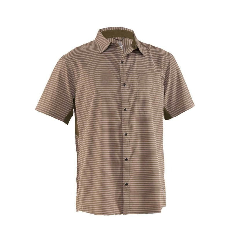 Vibe Men's Shirt - Grey Stripe | Action Pro Sports