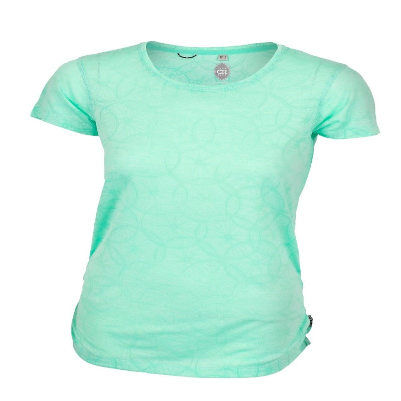 Wheel Cute Women's Shirt - Mint | Action Pro Sports