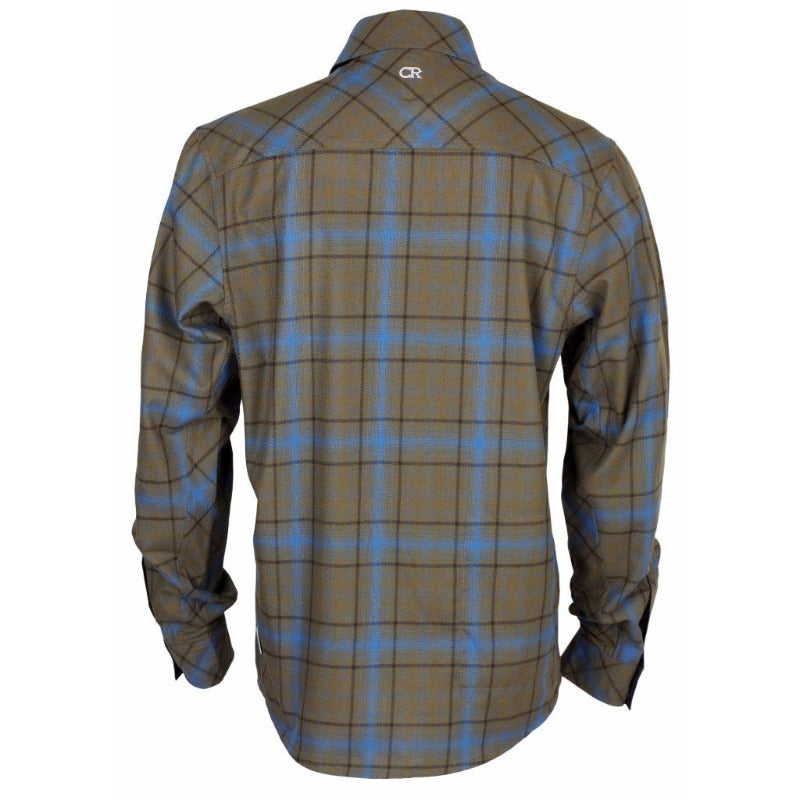Jack Flannel Men's Shirt - Black Snap | Action Pro Sports