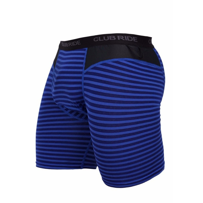 Johnson Men's Baselayer  - Cobalt Stripe | Action Pro Sports
