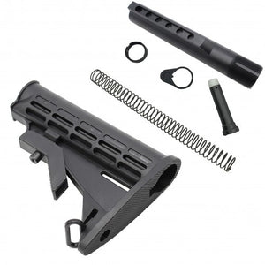 Collapsible Stock With 6 Position Buffer Tube - Action Pro Sports