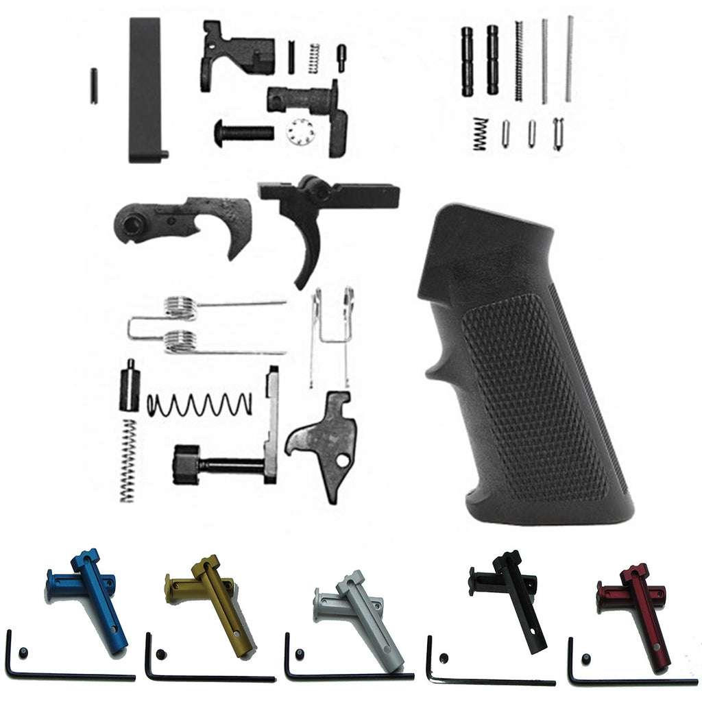 Lower Receiver Parts Kit With QuickSet Pivot & Takedown Pins