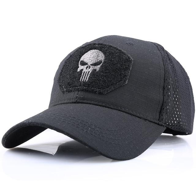 Tango Ultra Lite Hat - Black Punisher | Action Pro Sports