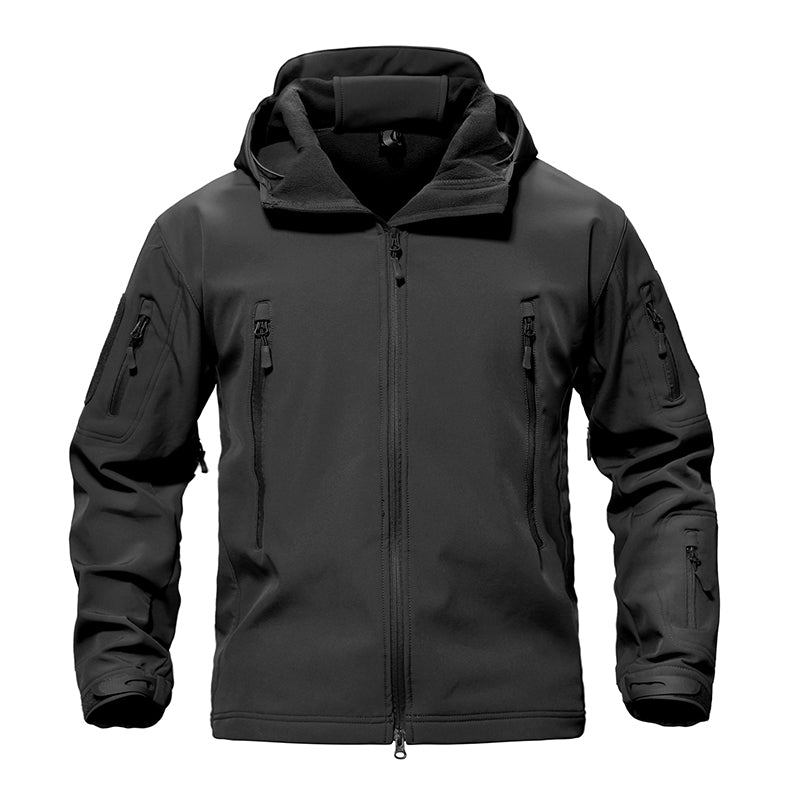 Hooded Soft Shell Jacket - Men's