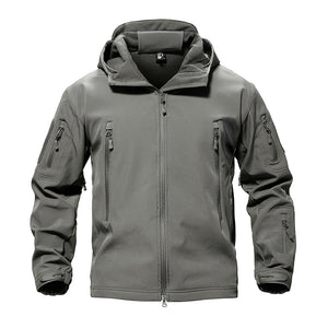 Hooded Soft Shell Jacket - Men's - Action Pro Sports