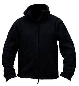Hooded Fleece Jacket - Men's - Action Pro Sports