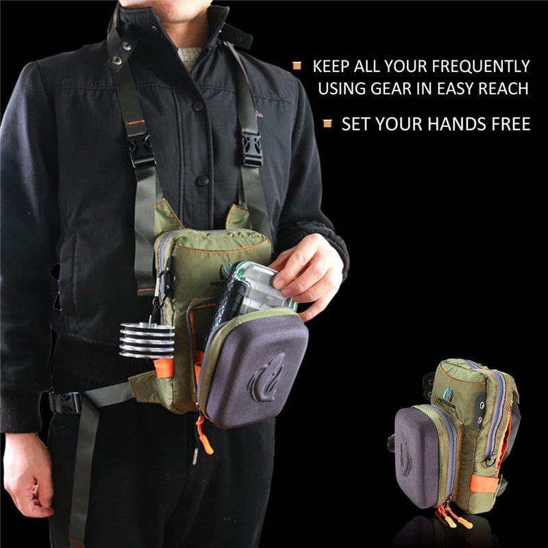 Fly Fishing Chest Pack - Action Pro Sports