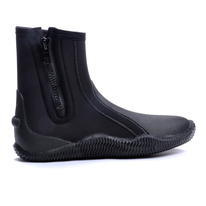 Global Brands - Wetsuit Booties- Above Ankle/5mm Booties (14221547) - Action Pro Sports