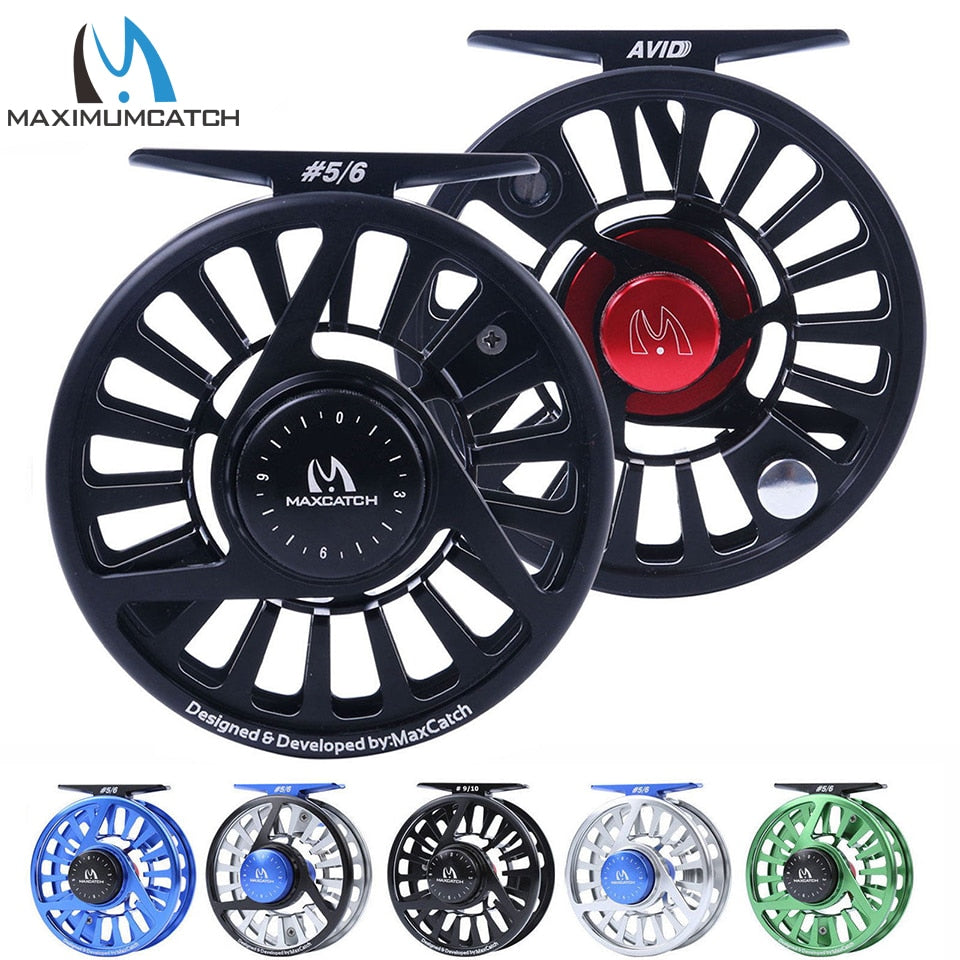 Fly Fishing Reel - Avid Series - Action Pro Sports
