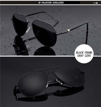 Polarized Aviation Sunglasses - Action Pro Sports
