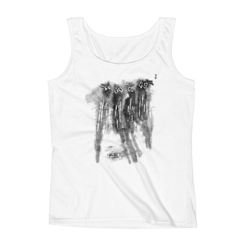 Spooked Spooks - Women's Missy Fit Tank Top