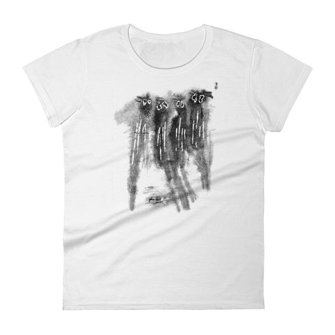 Spooked Spooks - Women's Short Sleeved T-Shirt