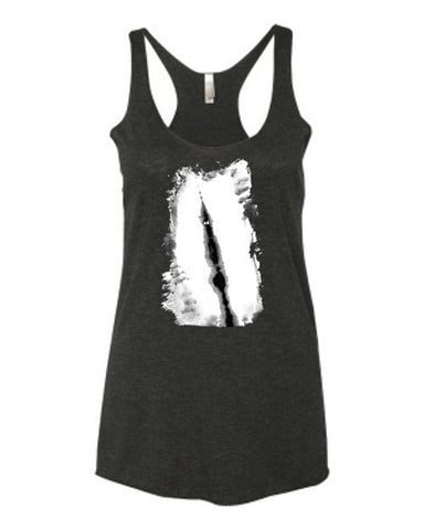 Slender Spook - Women's Racerback Tank Top