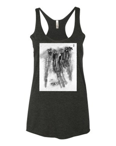 Spooked Spooks - Women's Racerback Tank Top
