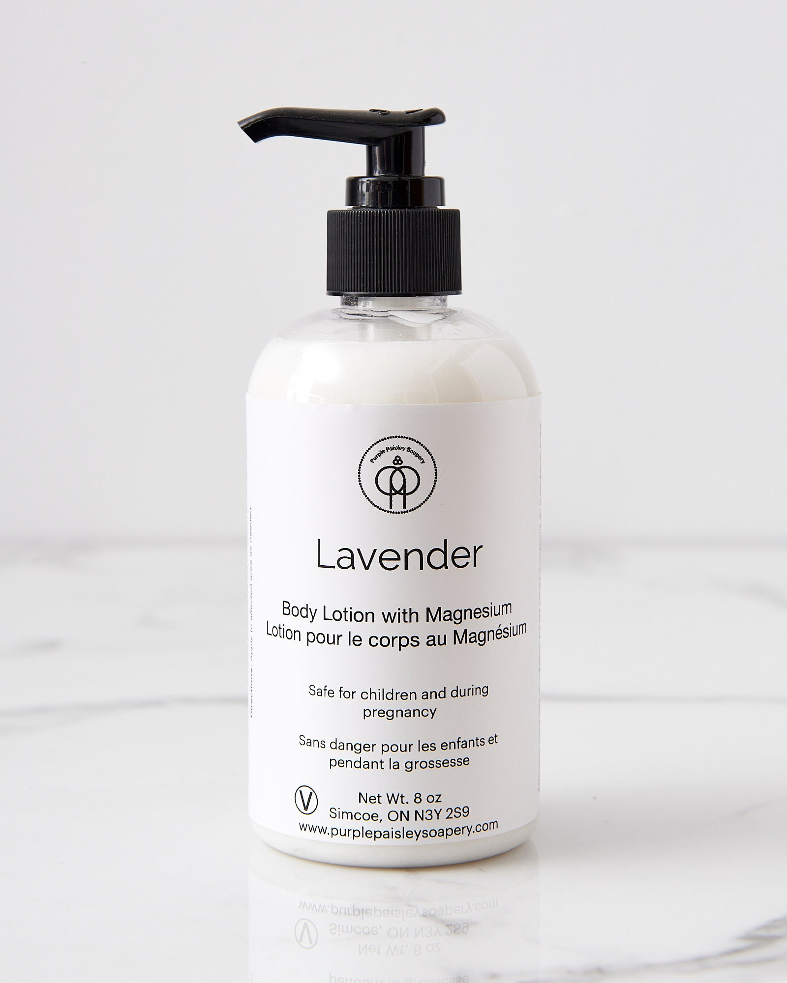 Lavender Body Lotion With Magnesium