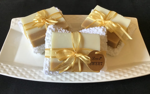 Soap With Cotton Cloth