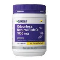 Blooms Omega 3 Odourless  Natural Fish Oil 1000mg 400's