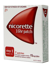 Nicorette Patches Step 1: 15mg  (7 pack)